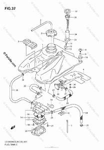 Suzuki Atv 2007 Oem Parts Diagram For Fuel Tank