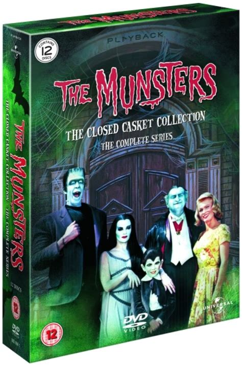 munsters  complete series dvd zavvi