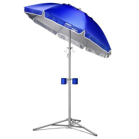 Outdoor Umbrella Stand Table by Ultimate Wondershade Blue Wondershade Net