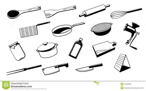 ustensile cuisine outil d 39 ustensile de cuisine photo libre de droits