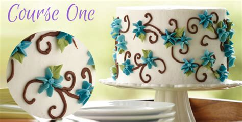 course 1 wilton cake decorating classes at michaels in