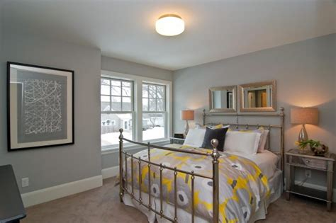 attractive choices  color carpet   gray bedroom walls