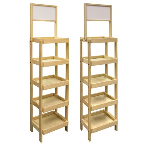 Display Racks by Wood Pop Display Rack Shop Display Custom Wood Store