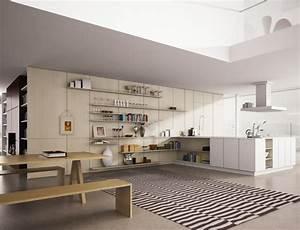 Tapis Grand Format : tapis moderne rayures en noir et blanc ~ Teatrodelosmanantiales.com Idées de Décoration