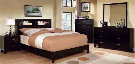 8 Milan Bedroom Set Espresso by Gerico I Espresso Bedroom Set From Furniture Of