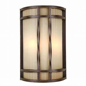 shop portfolio 8 in w 2 light antique bronze pocket With lowes wall sconces