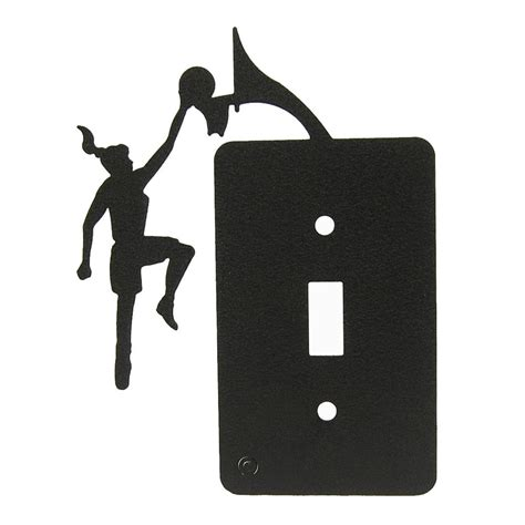 light switch covers for girls girls basketball single light switch plate cover