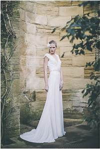 low key luxe bridal gowns for cool girls maria senvo With low key wedding dresses
