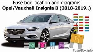 Fuse Box Location And Diagrams  Opel    Vauxhall Insignia B
