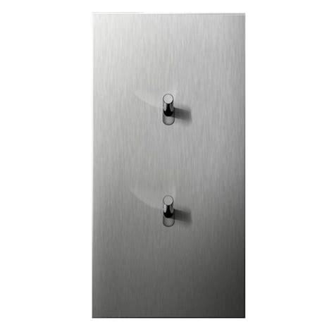 acier brosse epure interrupteurs  prises electriques