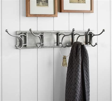 collapsable wall hooks pottery barn