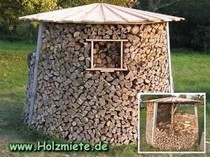 Brennholz Aufbewahrung Aussen : ideal f r kleinverbraucher die dreigeteilte holzmiete zur ~ Michelbontemps.com Haus und Dekorationen