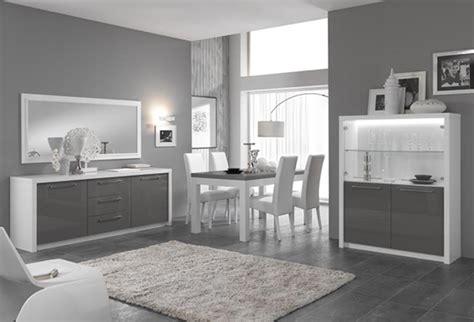 meuble appoint cuisine vitrine 1 porte fano laqué blanc et gris blanc brillant