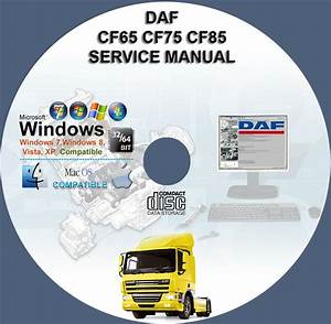 Daf Cf65 Cf75 Cf85 Service Repair Manual On Cd