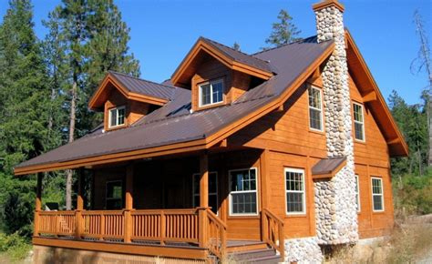 Wooden Houses : Solid Wood House Plans-aesthetic And Functionality