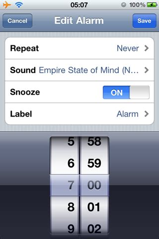 iphone alarm sound use your ipod as an alarm clock sound on your iphone