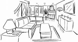 One Point Perspective Room Drawing at GetDrawings.com ...