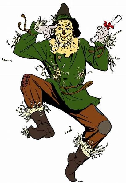 Wizard Oz Scarecrow Clipart Clip Disney Wiz
