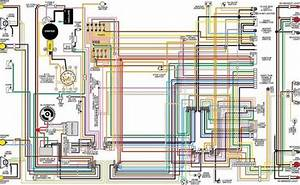 1968 Ford Mustang Color Wiring Diagram