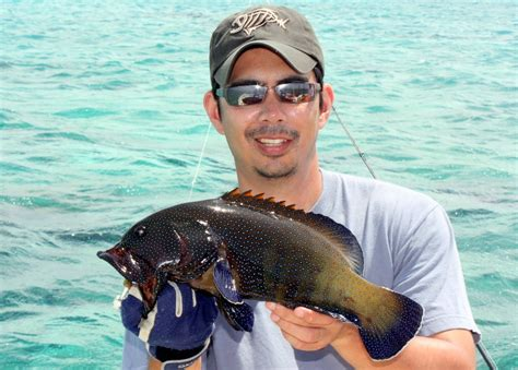 grouper fishing catch
