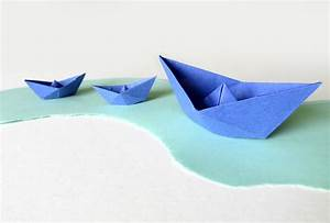 Origami Bateau à Voile : origami bateau un voilier en origami origami de bateau ~ Dode.kayakingforconservation.com Idées de Décoration