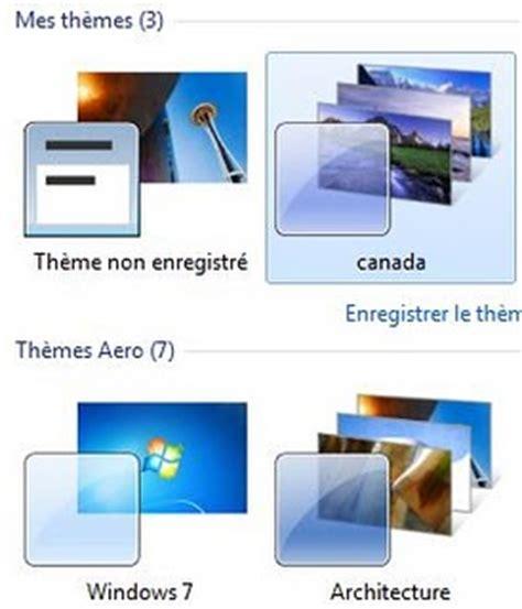 theme bureau windows 7 comment trouver et activer les thèmes cachés du bureau de