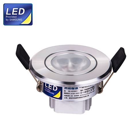 3w small size 56mm samsung chips led spotlight for