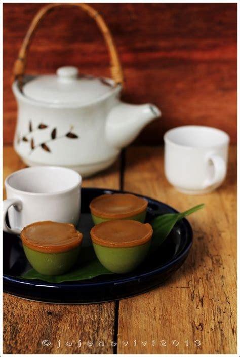1/2 sendok teh pasta pandan; TALAM PANDAN GULA MERAH   Makanan, Resep, Kue