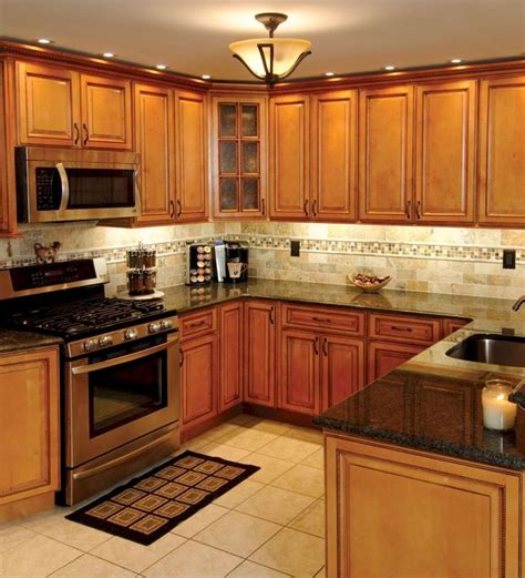 oak kitchen cabinets ideas decoration