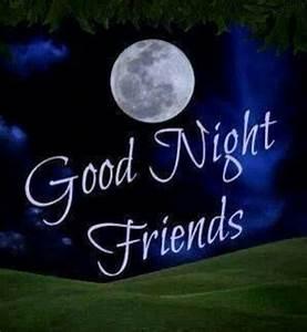 Good Night Friends Greetings