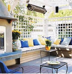 Decoration Terrasse Exterieur : couleur terrasse ext rieur id e d co terrasse ext rieur ~ Teatrodelosmanantiales.com Idées de Décoration