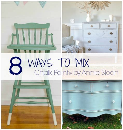 8 ways to mix chalk paint colors the golden sycamore