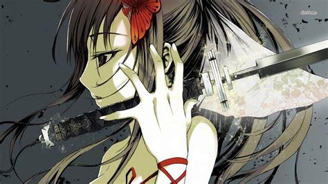 katana girl wallpaper anime wallpapers