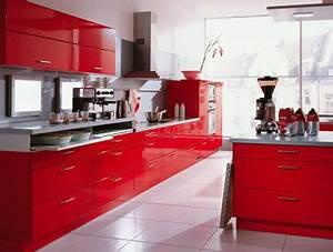 Cocinas rojas a todo color Mil Ideas de Decoración