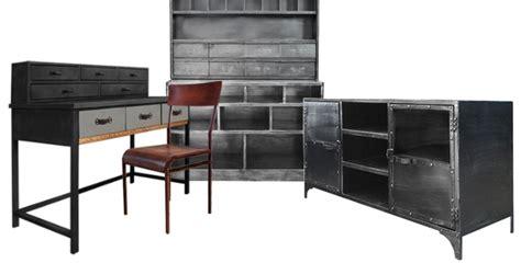 bureau industriel pas cher mobilier style industriel pas cher mobilier style