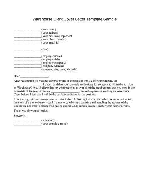 Cover Letter For Warehouse Worker by Cover Letter For Warehouse Position Exles Cover Up