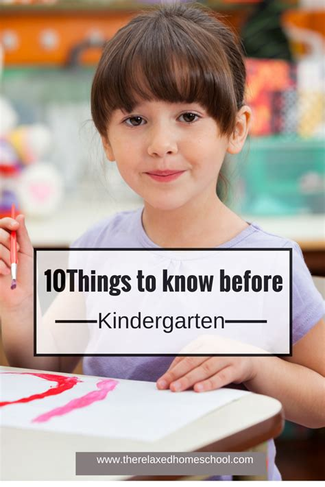 10 things your child should before kindergarten 348 | 10things