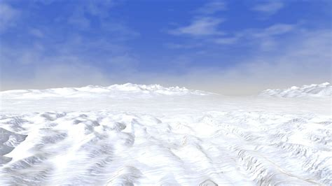 Snow Landscape Wallpaper