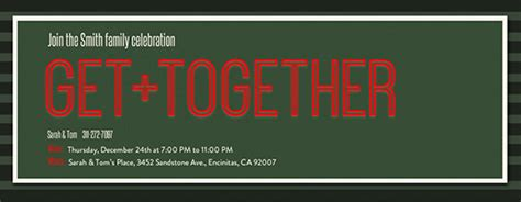 office holiday party  invitations evite