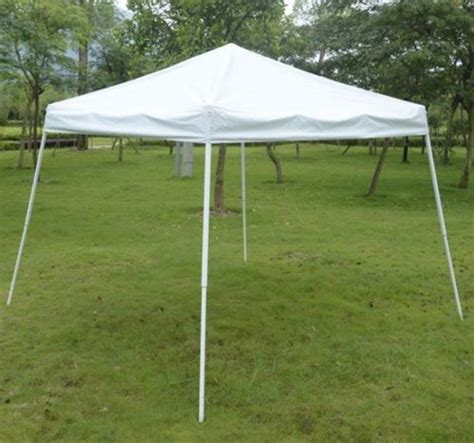 Outdoor 10#039;x10#039; Ez Pop Up Beach Canopy Gazebo