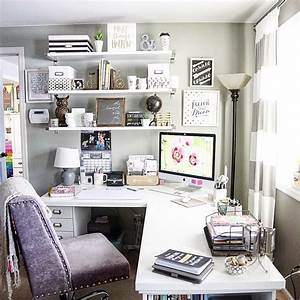 10, Small, Home, Office, Ideas, That, U2019s, Surprisingly, Stylish, On, A, Budget, With, Images