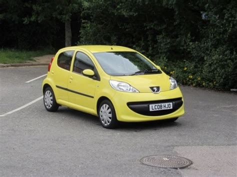 used peugeot used peugeot 107 2008 petrol yellow manual for sale in