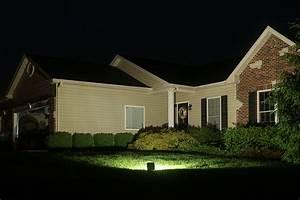 Watt led flood light fixture low profile
