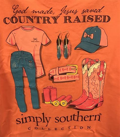 """Simply Southern """"Country"""" T Shirt"""