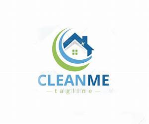 The gallery for --> House Cleaning Logo Design