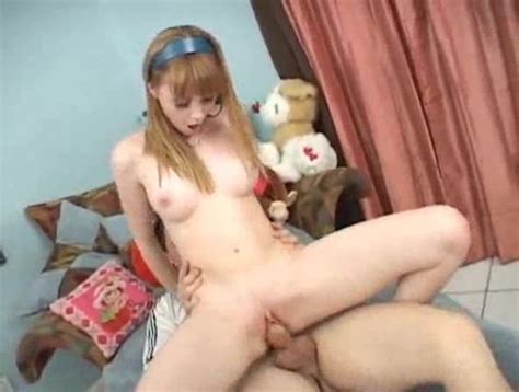 Amazing Sex With A Young Shaved Redhead Teen Porn