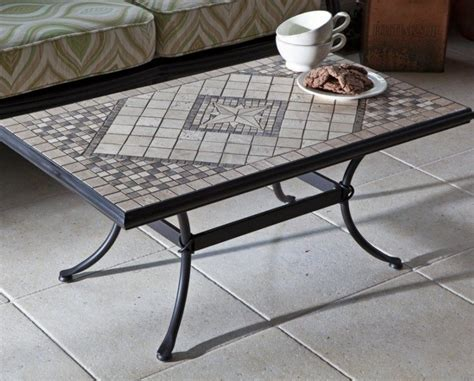 Artistic Mosaic Patterns for Rectangular Table   NYTexas