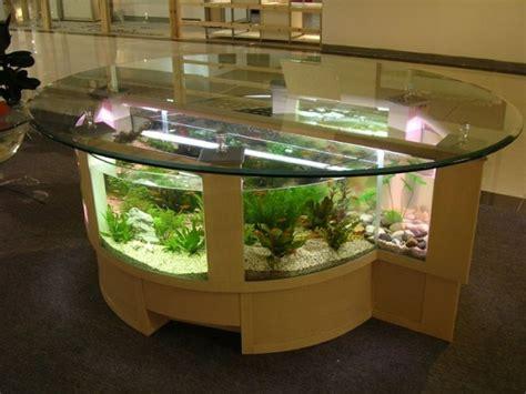 aquarium meuble dans la deco
