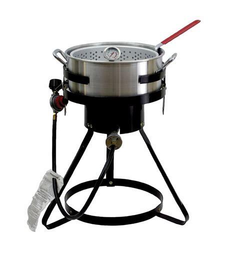 fryer propane deep fish outdoor gas cooker chard qt fryers aluminum btu quart turkey cookers cooking wing grill outdoors grills