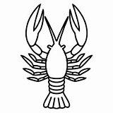 Crawfish Sketch Paintingvalley Collection Svg sketch template